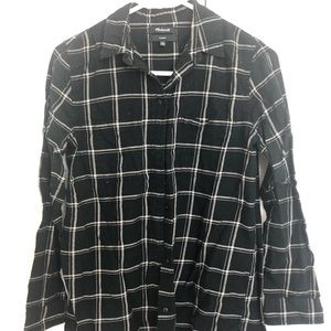 Madewell classic flannel